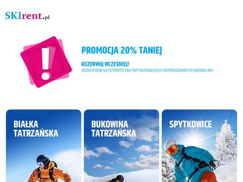 Sskirent.pl wypożyczalnia sprzętu zimowego