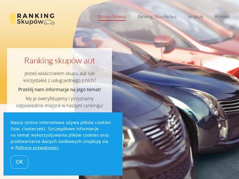 Skupautranking.pl katalog firm motoryzacyjnych