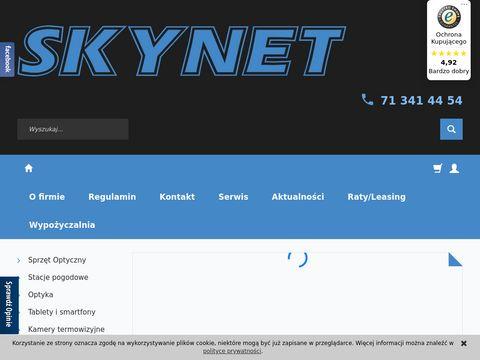 Skynet.pl sklep mikroskopy Wrocław