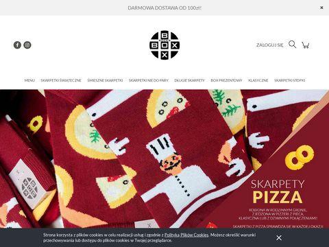 Soxinthebox.pl śmieszne skarpetki