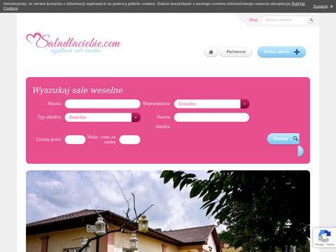 Saladlaciebie.com domy weselne