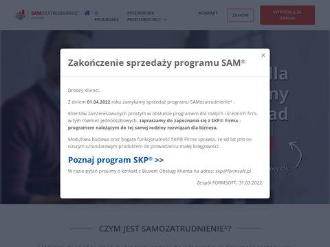 Samozatrudnienie.pl program księgowy dla firmy