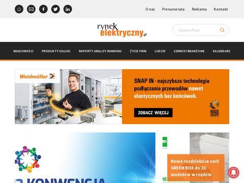Rynekelektryczny.pl branża elektryczna w Polsce