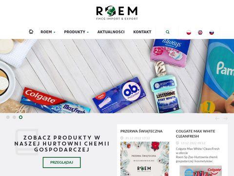 Roem sp. z o.o hurtownia chemiczna