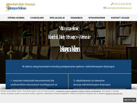 Radcakulesza.pl kancelaria w Warszawie