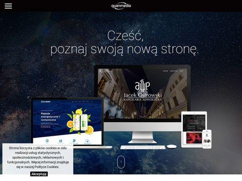 Quanmedia.pl projektowanie graficzne