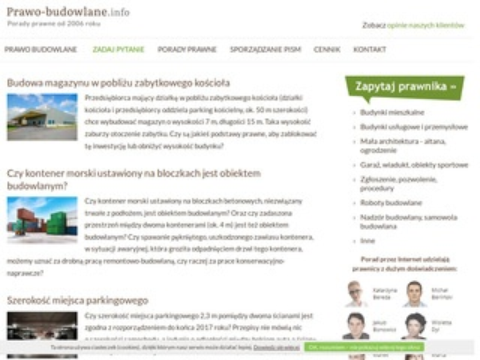 Prawo-Budowlane.info porady prawne