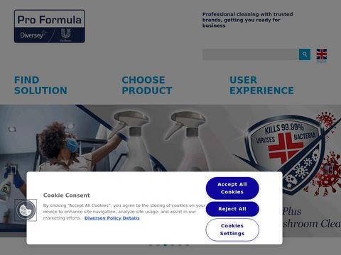 Proformulabydiversey.com środki czyszczące