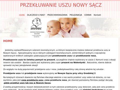 Przekluwanie-uszu-nowysacz.pl