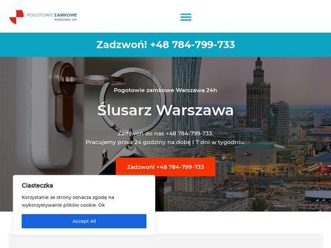 Pogotowie-zamkowe-warszawa-24h.pl ślusarz