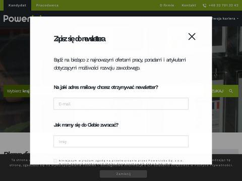 Powerjobs.pl pośrednictwo pracy Katowice