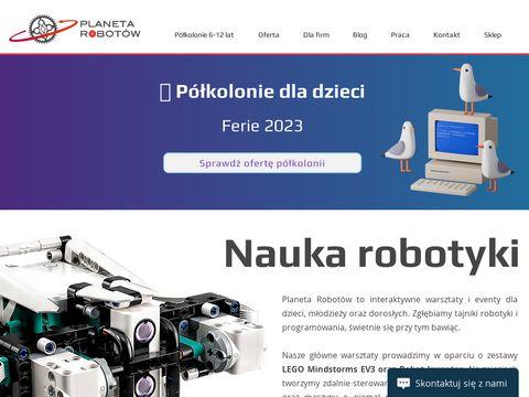 Planetarobotow.pl Półkolonie dla dzieci