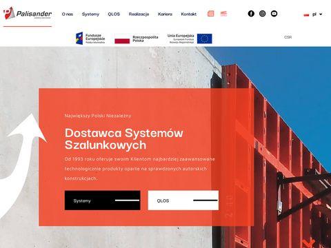 Palisander.com.pl szalunki budowlane