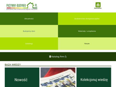 Pasywny-budynek.pl portal katalog firm
