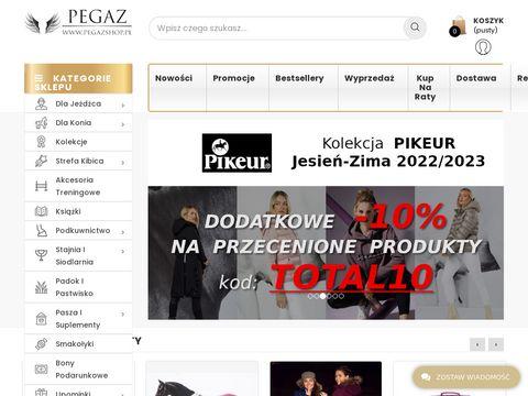 Pegazshop.pl preparaty do pielęgnacji konia