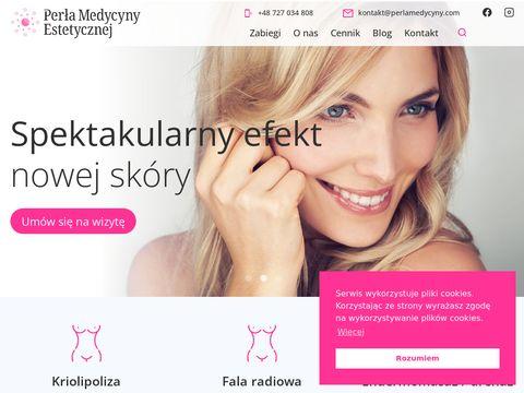 Perlamedycyny.com mezoterapia osoczem