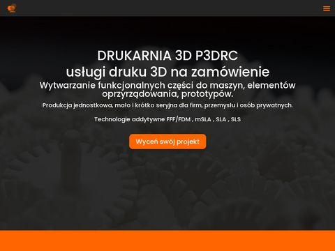 P3drc.pl wydruki 3d