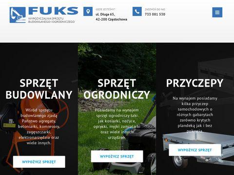 Wypozyczalnia-fuks.pl sprzętu budowlanego