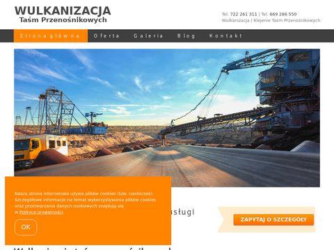 Wulkanizacja-tasm.pl przenośnikowych
