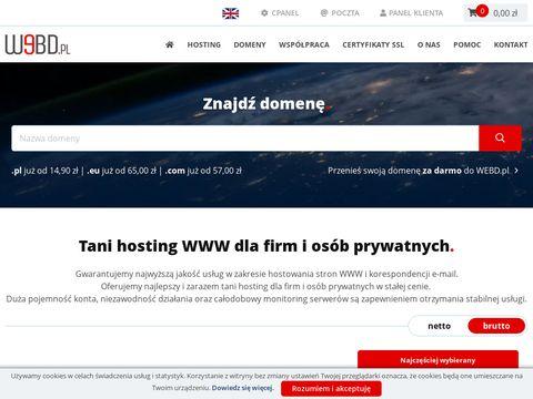 Webd.pl hosting stron www