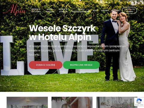 Weeselewszczyrku.pl w Beskidach hotel Alpin