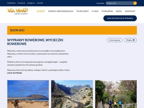 Viaverde.com.pl wycieczki rowerowe po europie
