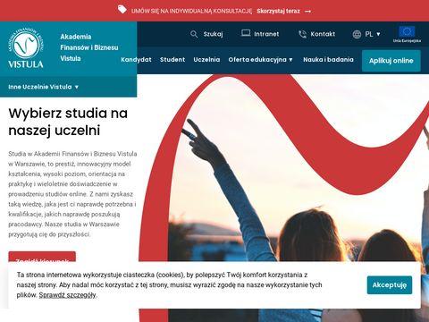 Vistula.edu.pl grupa uczelni najlepsze studia
