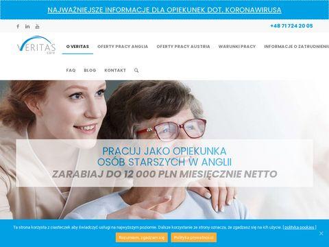 Veritas-care.pl jak znaleźć pracę w Anglii