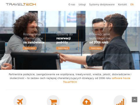 Traveltech.pl aplikacje webowe