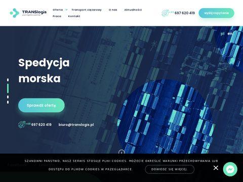 Translogis.pl spedycja międzynarodowa