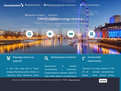 Transpomat.pl bilet lotniczy