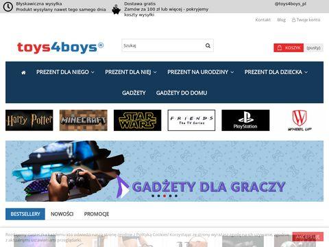 Toys4boys.pl prezenty dla niego