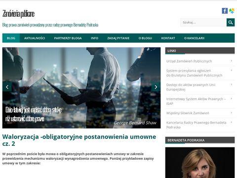 Zamowienia-publiczne.net blog