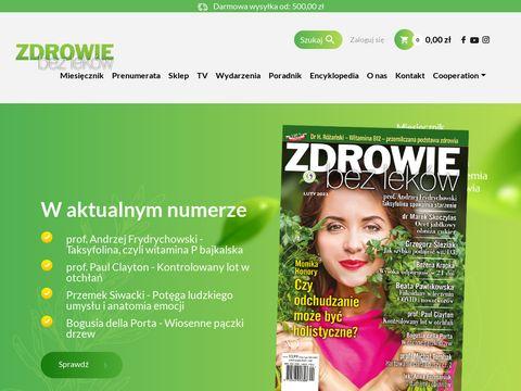 Zdrowiebezlekow.pl medycyna niekonwencjonalna