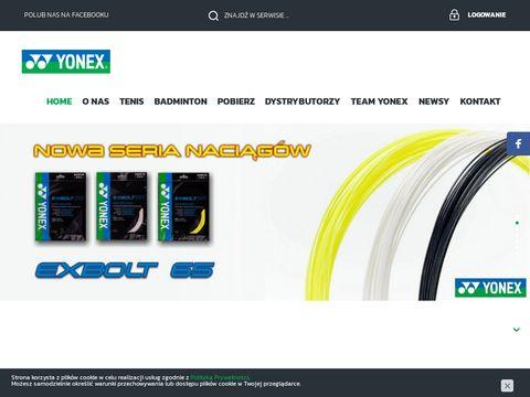 Yonex.pl rakiety do tenisa i badmintona