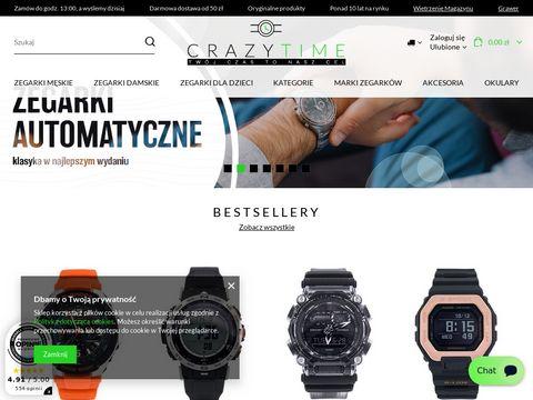 Crazytime.pl sklep z zegarkami online