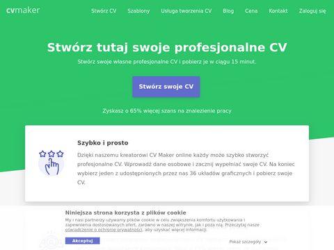 Cv-maker.pl stwórz swoje własne profesjonalne CV