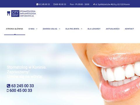 Citydentkonin.pl implanty