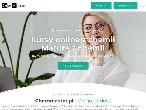 Chemmaster.pl nauka chemii od podstaw