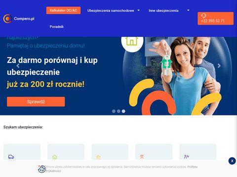 Compero.pl porównywarka ubezpieczeń