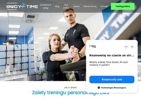 Bodytime-ems.pl trening personalny