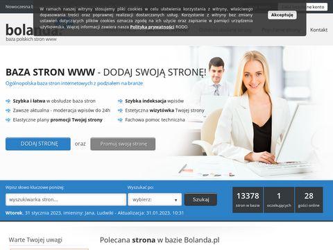 Bolanda.pl reklama stron www
