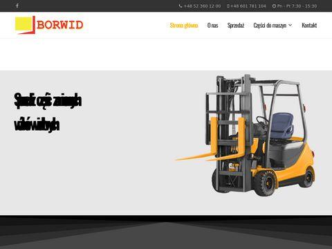 Borwid.pl - części do wózków Linde
