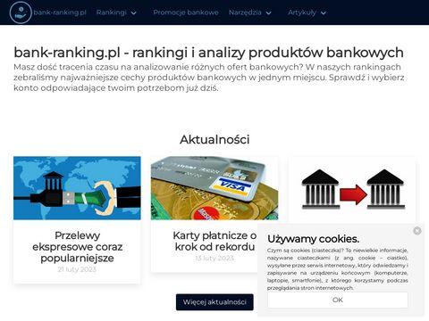 Bank-ranking.pl najlepsze konto firmowe
