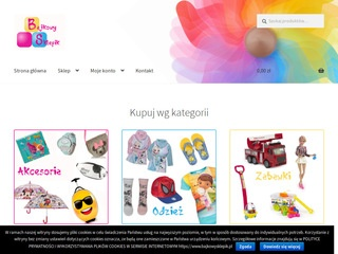 Bajkowysklepik.pl z zabawkami i akcesoriami