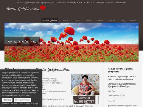Beata-golebiowska.pl psychoterapeuta