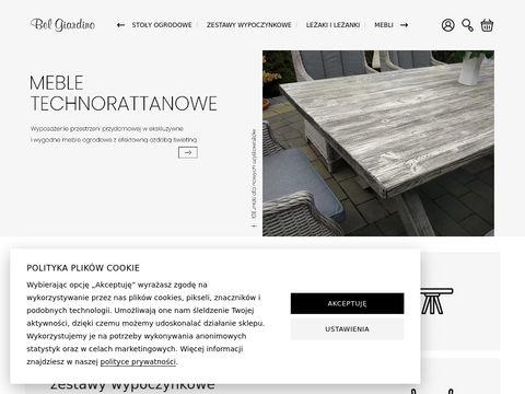 Belgiardino.pl meble ogrodowe z technorattanu