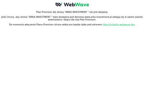 Arka-investment.pl aranżacja i wykończenie wnętrz