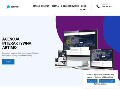 Artimo.net.pl strony internetowe