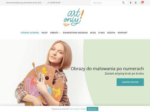 Zestawy do nauki malowania farbami - artonly.pl